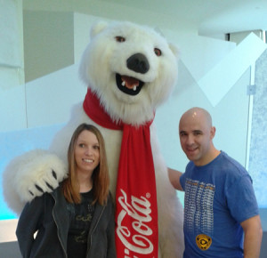 Chandler Molly Atlanta Coke Polar Bear